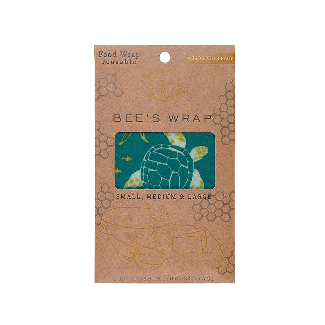 Bees Wrap Ocean ED / Set of 3
