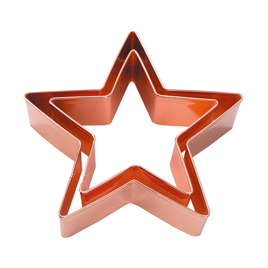 Double Copper Cookie Cutter / Star