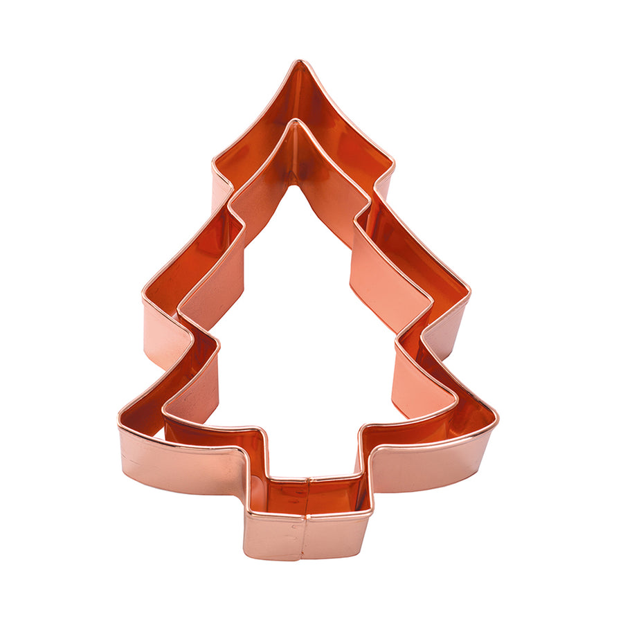 Double Copper Cookie Cutter / Christmas Tree
