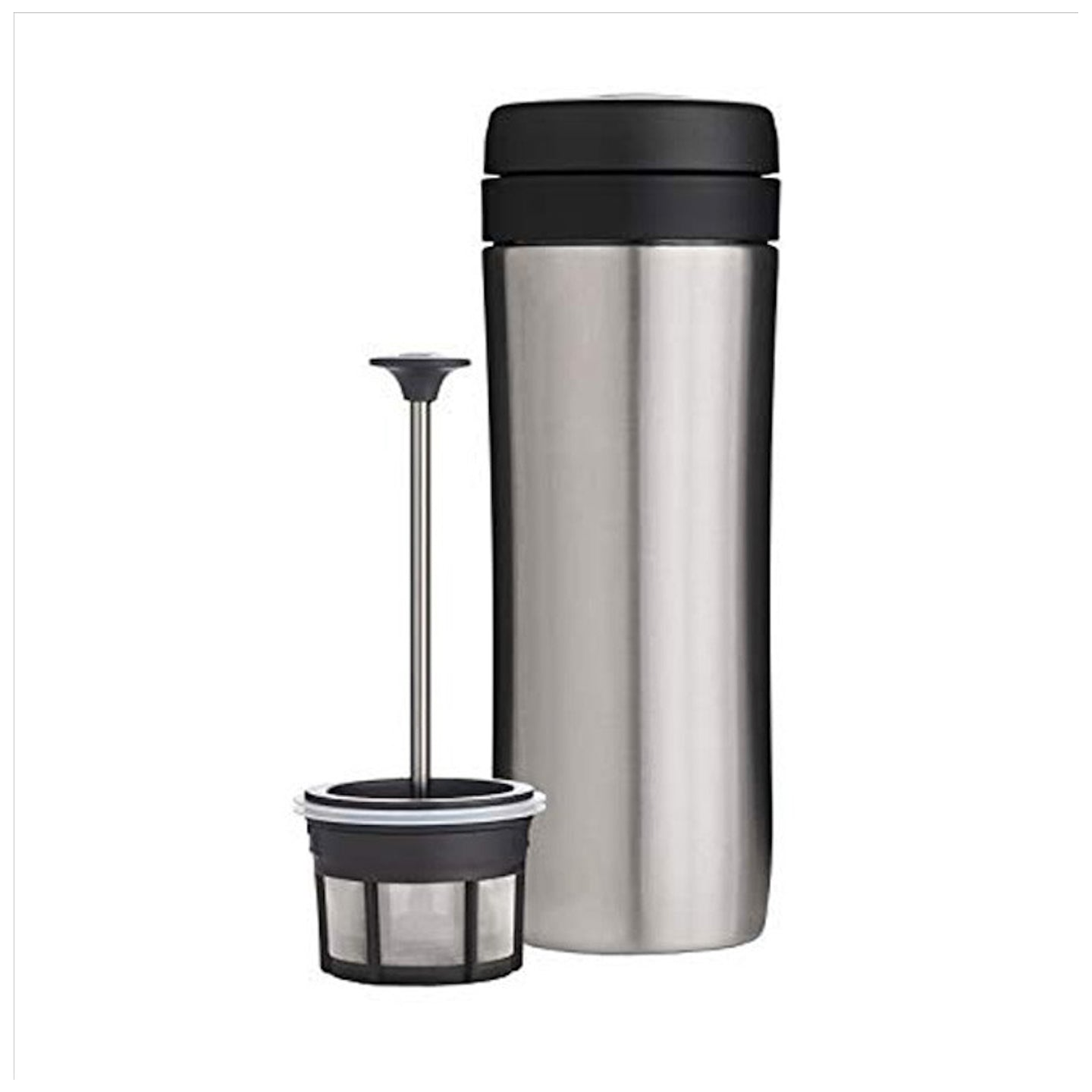 Espro Travel Press for Coffee / Brushed Steel