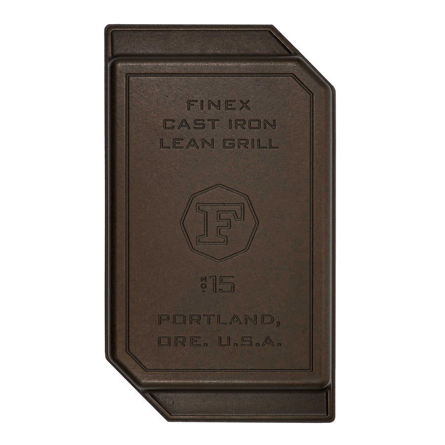 Finex Cast Iron Lean Grill Pan / 38cm (15inch)
