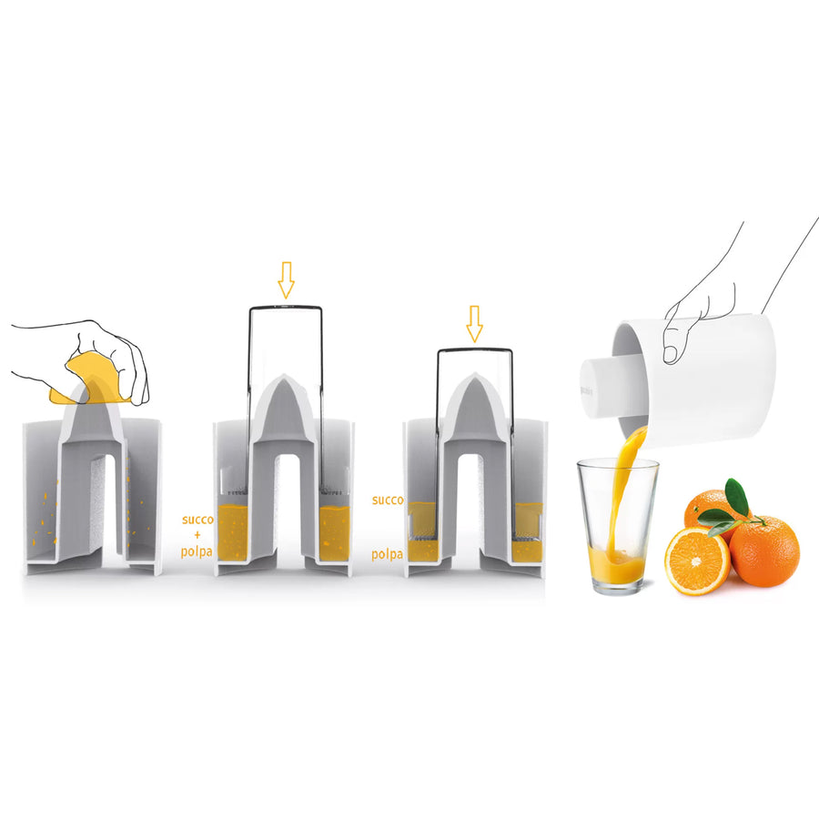 Guzzini Citrus Juicer / Grey