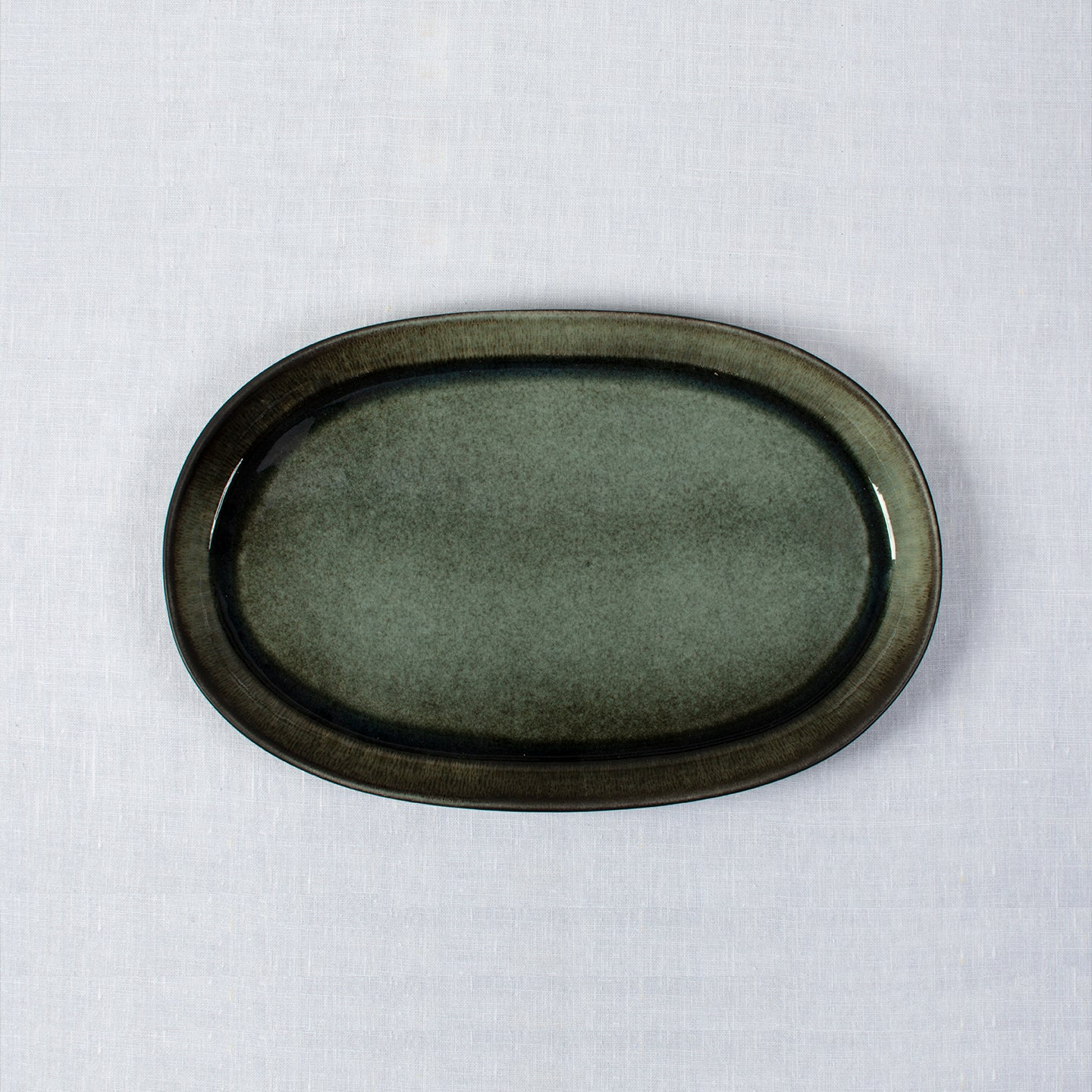 Jars Oval Sharing Platter XL / 39.5x25.5cm / Samoa / Black