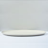 Jars Plume Oval Fish Dish / 55x28cm / Quartz