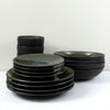 Jars Tourron 16 Piece Dinner Set / Samoa / Black