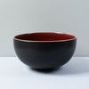 Jars Tourron Deep Bowl / 23cm / Cerise / Black