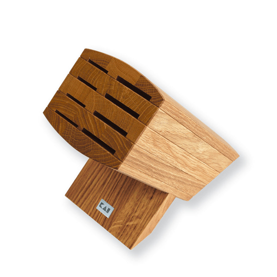 Kai Wasabi Knife Block / Oak