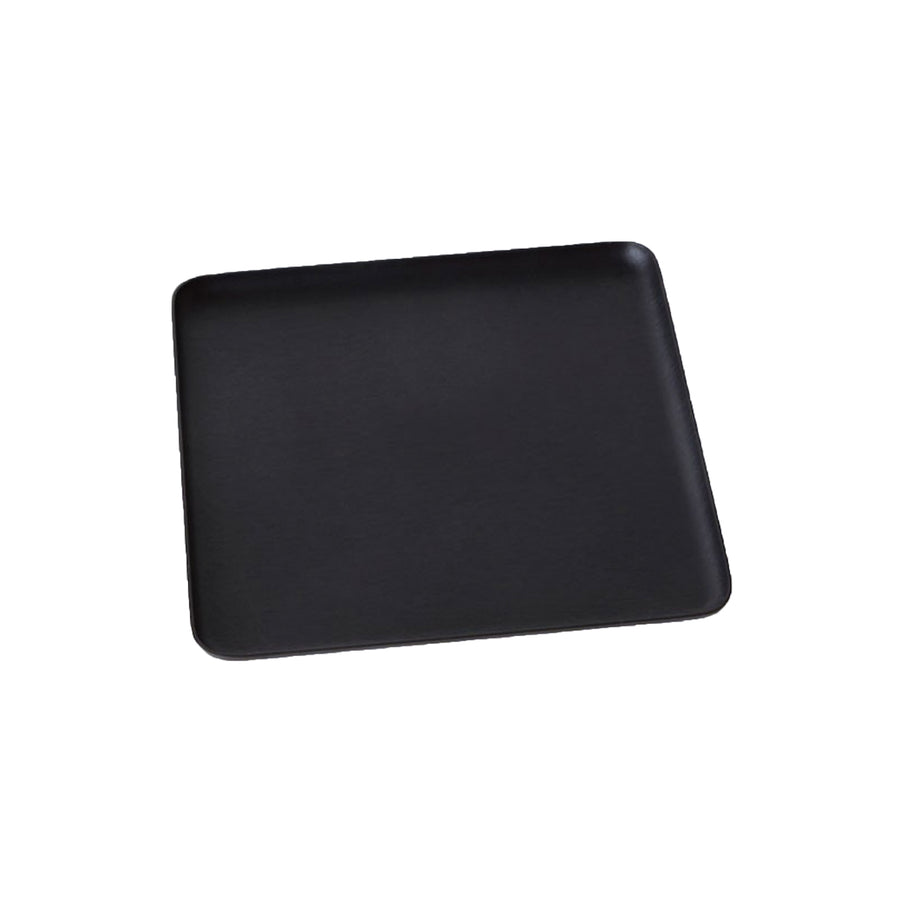 Kaymet Serving Tray Square Black 17x17cm