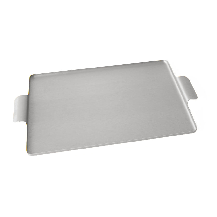Kaymet Serving Tray Rectangle Silver