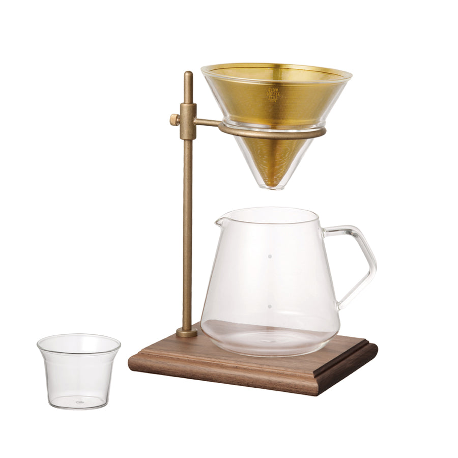 Kinto Brewer Stand Set / Brass