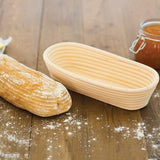 Kitchencraft Bread Proofing Basket / Oval / 27x13cm