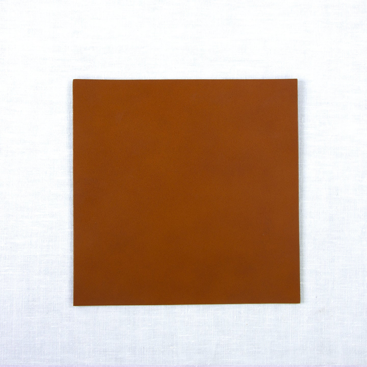 Leather Placemat Square / 25x25cm / Cognac