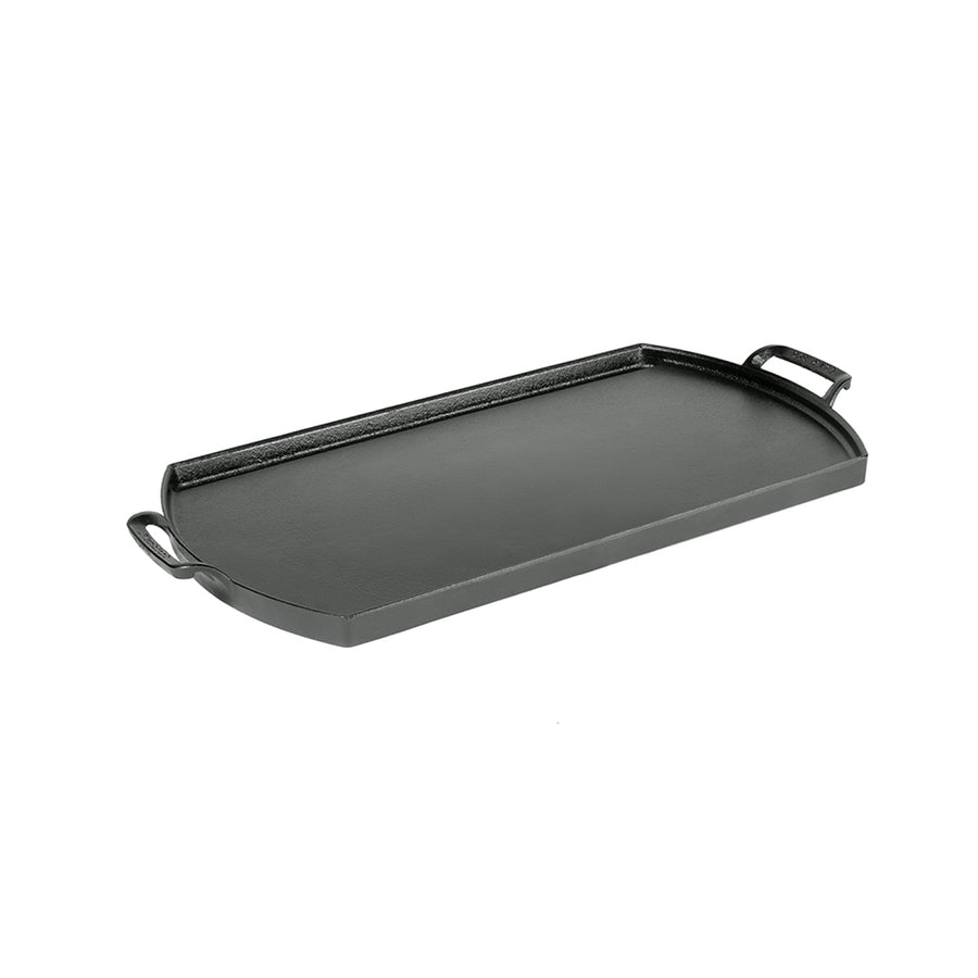 "Lodge Blacklock Double Burner Griddle /25x50cm/ 10""x20"" (Online Only)"