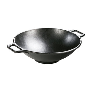 "Lodge Cast Iron Wok / 35.5cm / 14"" (Online Only)"