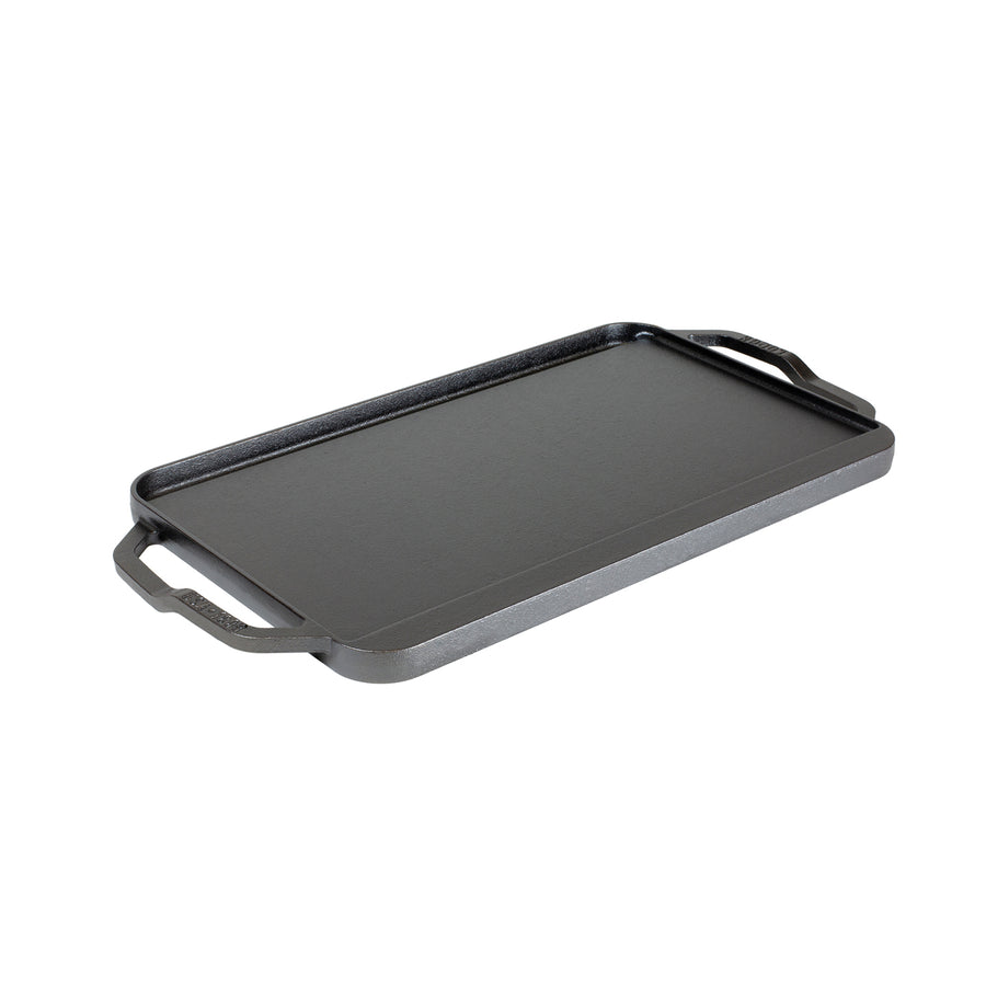 Lodge Chef Collection Reversible Griddle / 50x25cm / 19.5x10""