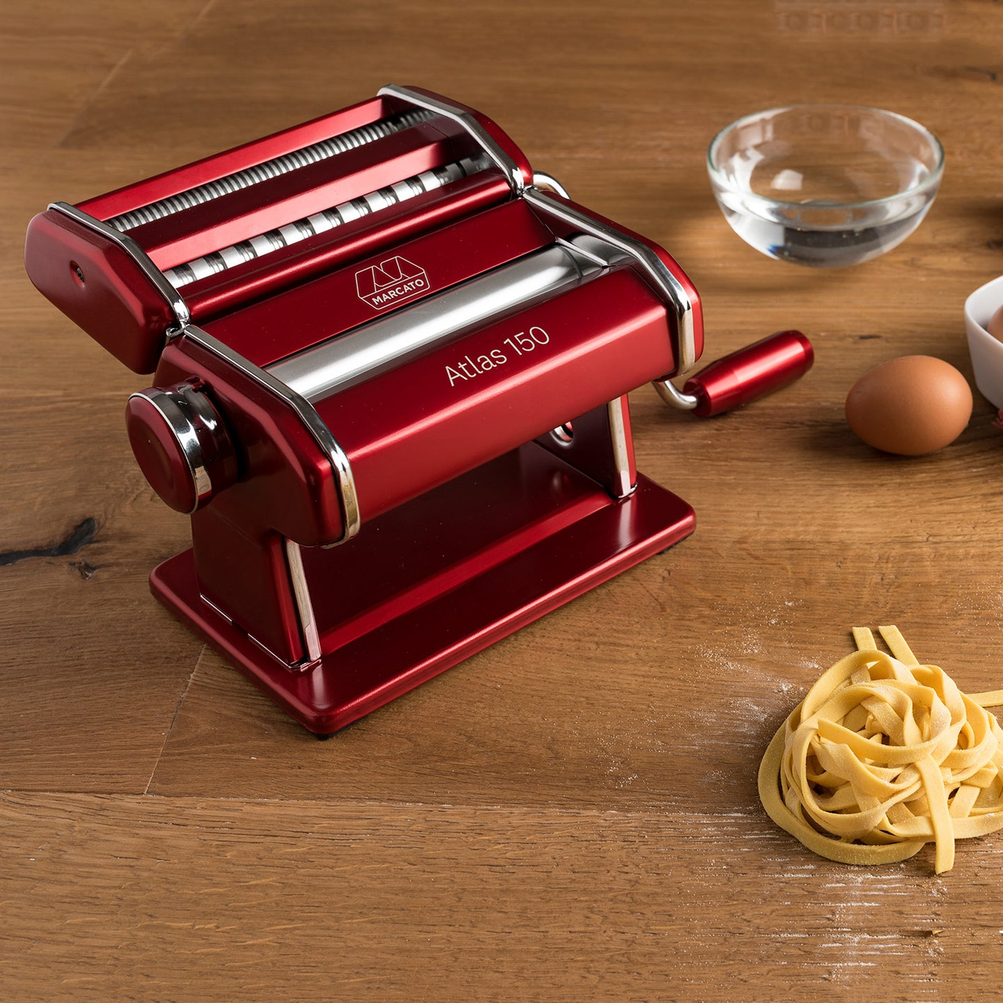 Marcato Atlas 150 Pasta Maker / Red