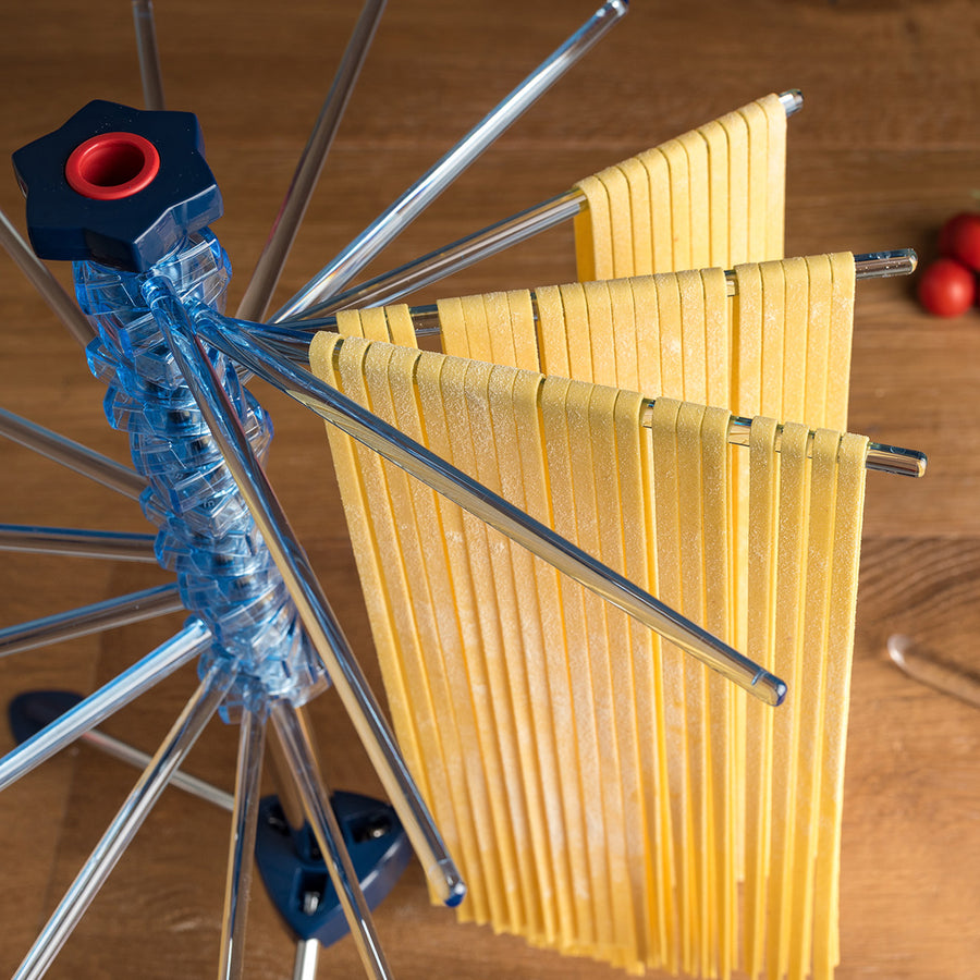 Marcato Pasta Drying Rack / Blue
