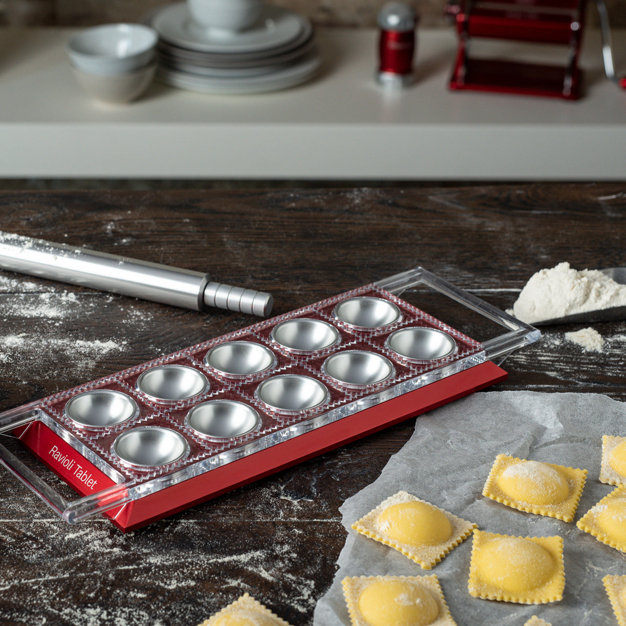 Marcato Ravioli Tablet / Red