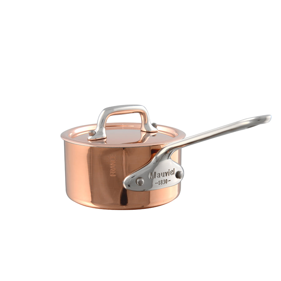 Mauviel M'150S Minis Saucepan with Lid / 9cm