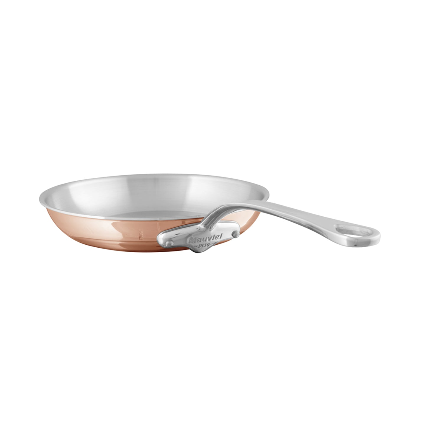 Mauviel M'6S Induction Compatible Copper Frying Pan