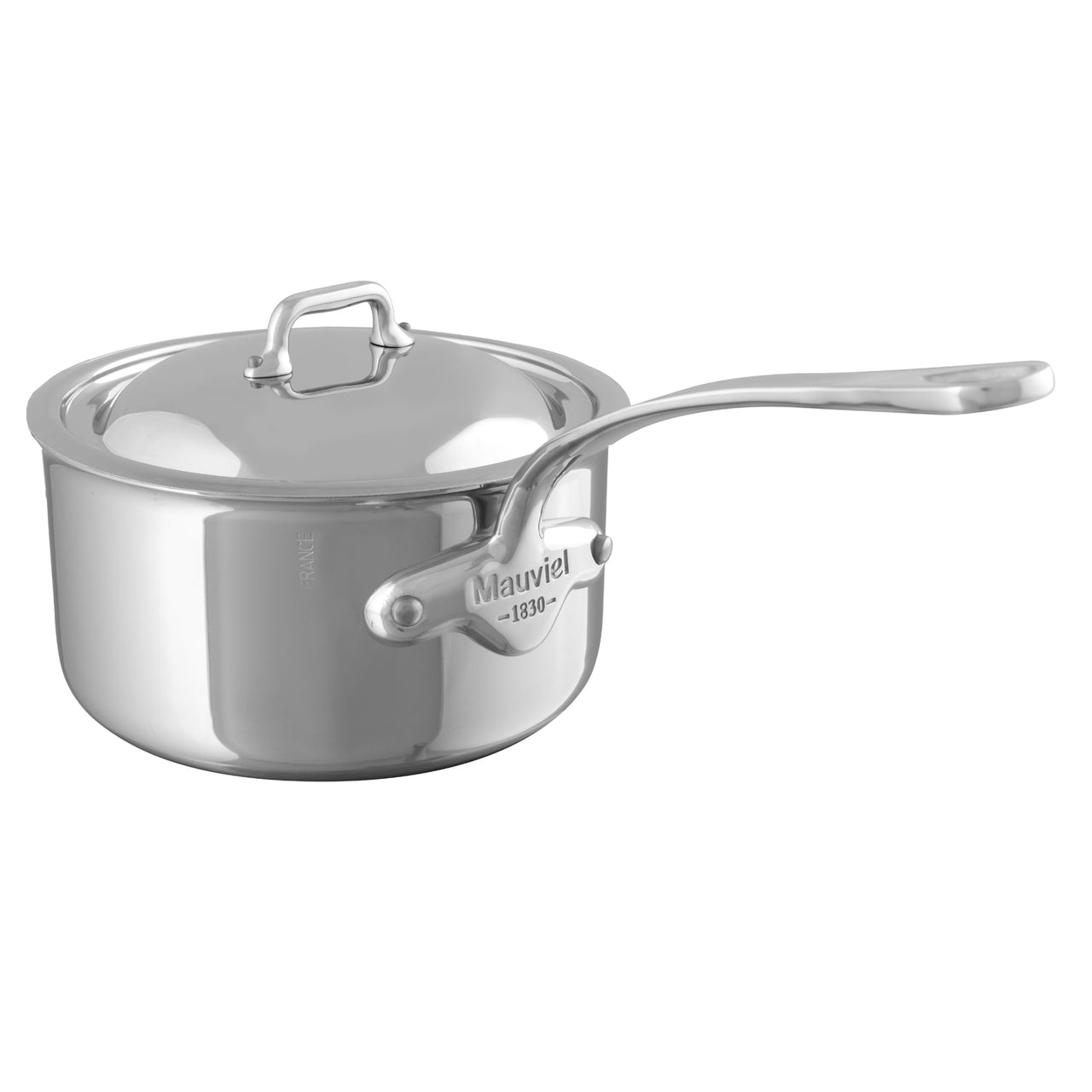 Mauviel M'Cook Saucepan with Lid