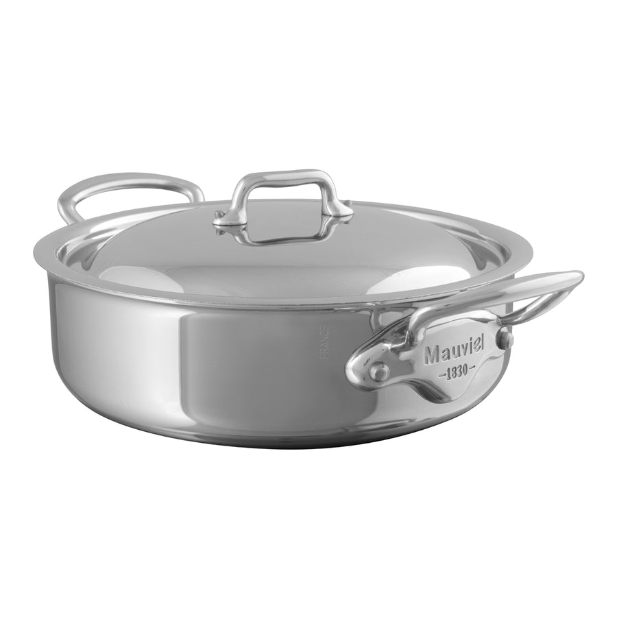 Mauviel M'Cook Saute Casserole with Lid