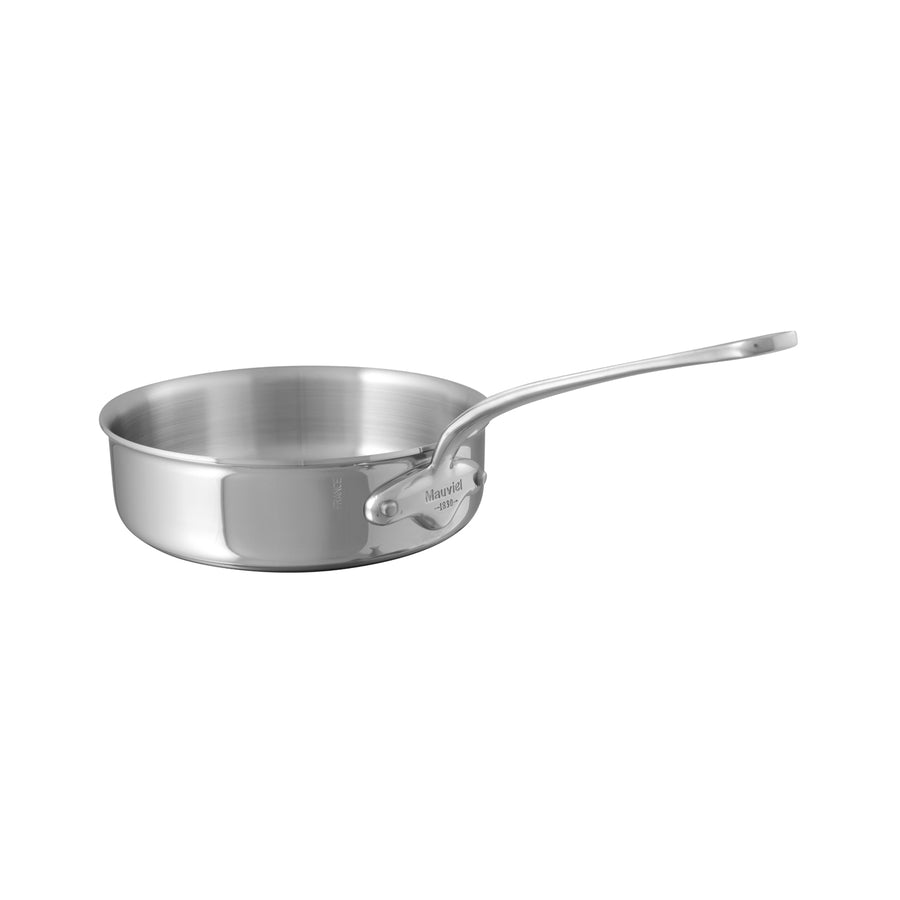 Mauviel M'Cook Saute Pan Long Handle / No Lid