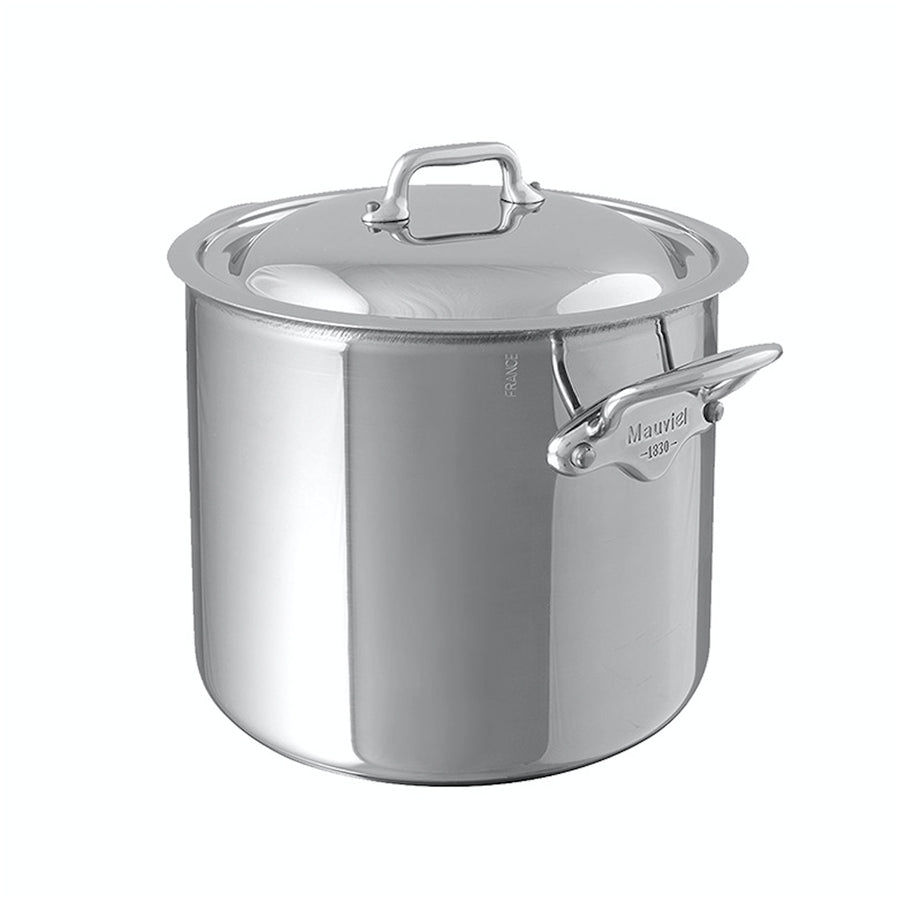 Mauviel M'Cook Stockpot with Lid