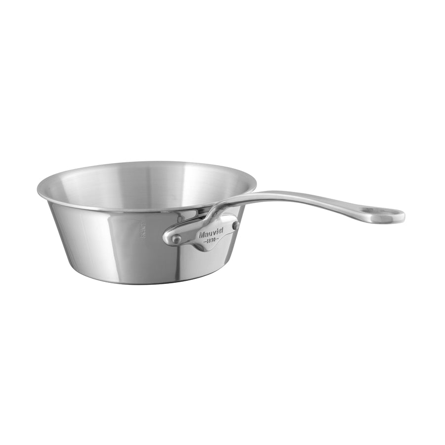 Mauviel M'Cook Straight Sided Splayed Saute Pan / 20cm