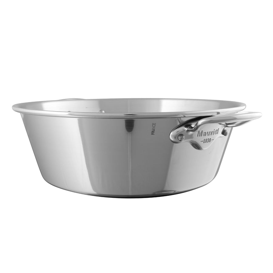 Mauviel M'Passion Stainless Steel Jam Pan / 36cm