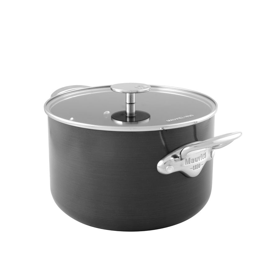 Mauviel M'Stone Casserole with Glass Lid