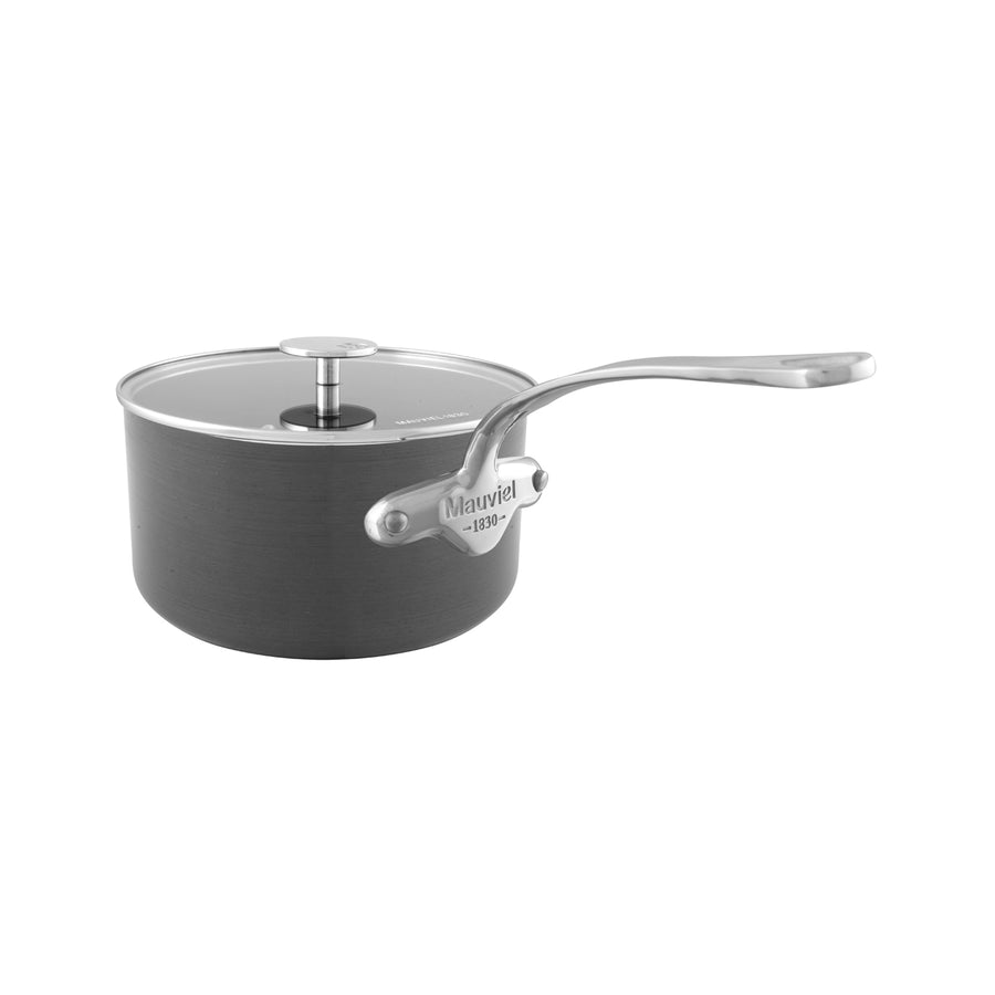Mauviel M'Stone Saucepan with Glass Lid