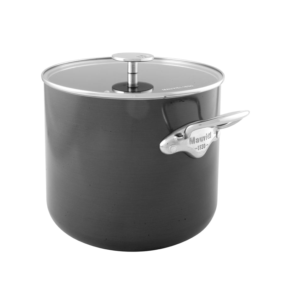 Mauviel M'Stone Stockpot with Glass Lid / 24cm
