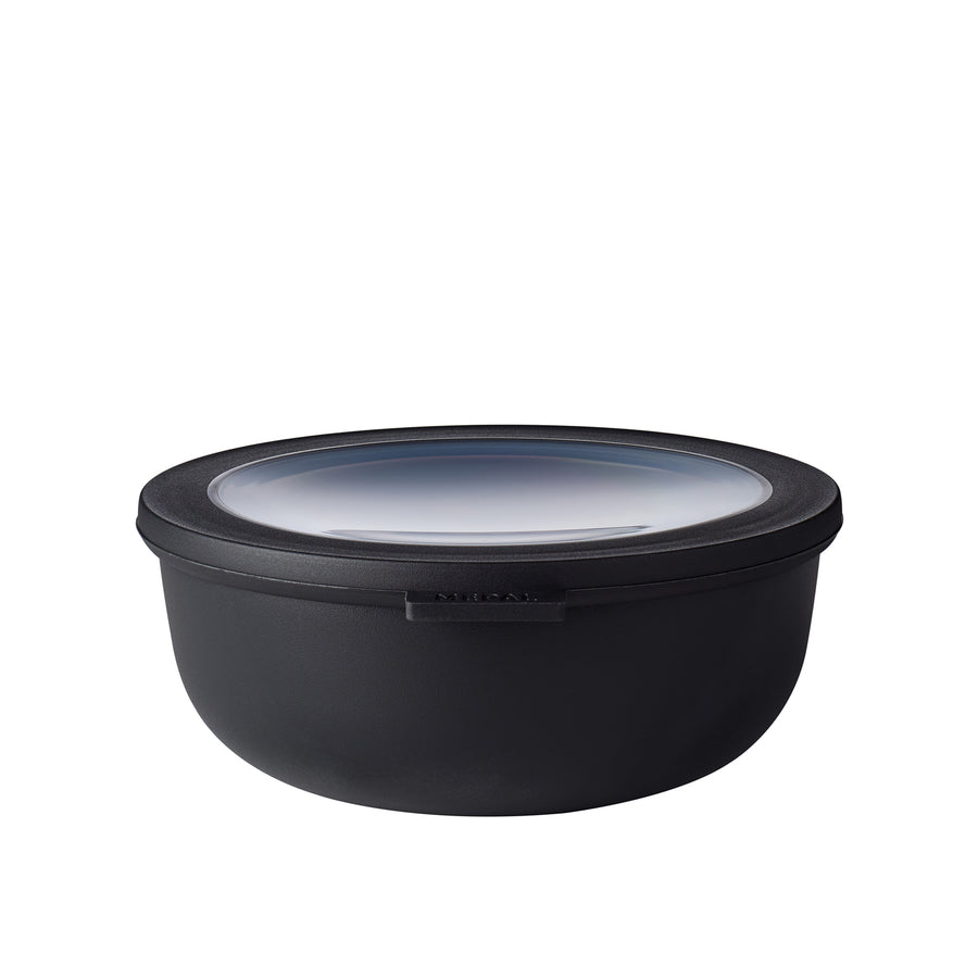 Mepal Cirqula Mixing Bowl with Lid / Black / 1250ml