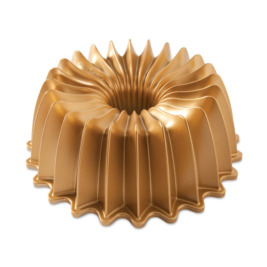 NordicWare Brilliance Bundt Pan Gold (Online Only)