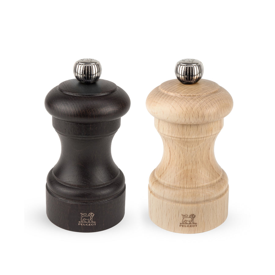 Peugeot Bistro Salt & Pepper Mill Set / Chocolate & Natural
