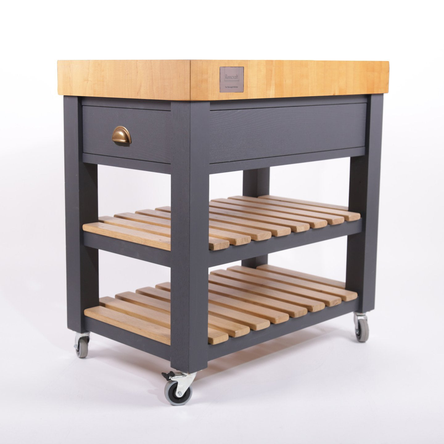 Rencraft Butchers Block / Maple / Dark Grey