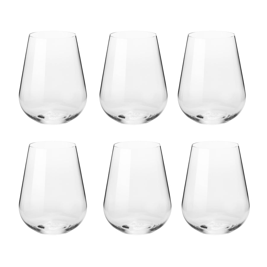 Richard Brendon + Jancis Robinson Water Glasses Set of 6 / 500ml