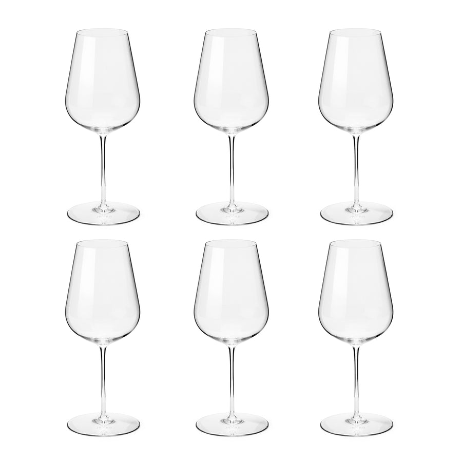 Richard Brendon + Jancis Robinson Wine Glasses Set of 6 / 500ml
