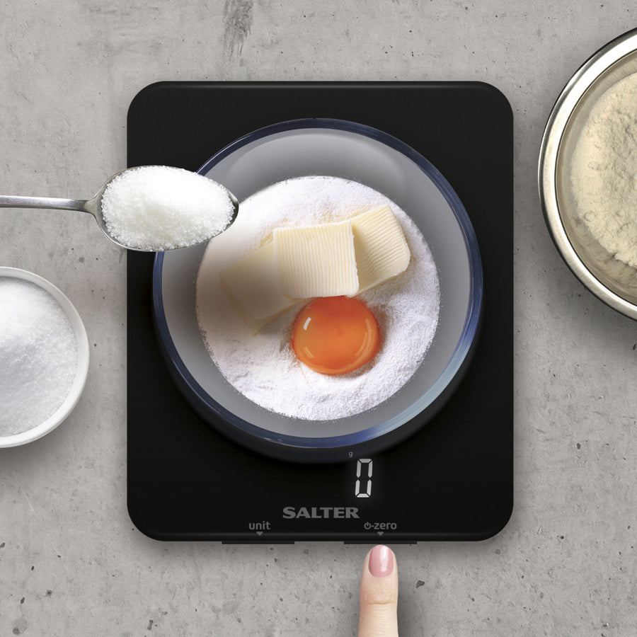Salter Phantom Digital Kitchen Scale 5kg / Black