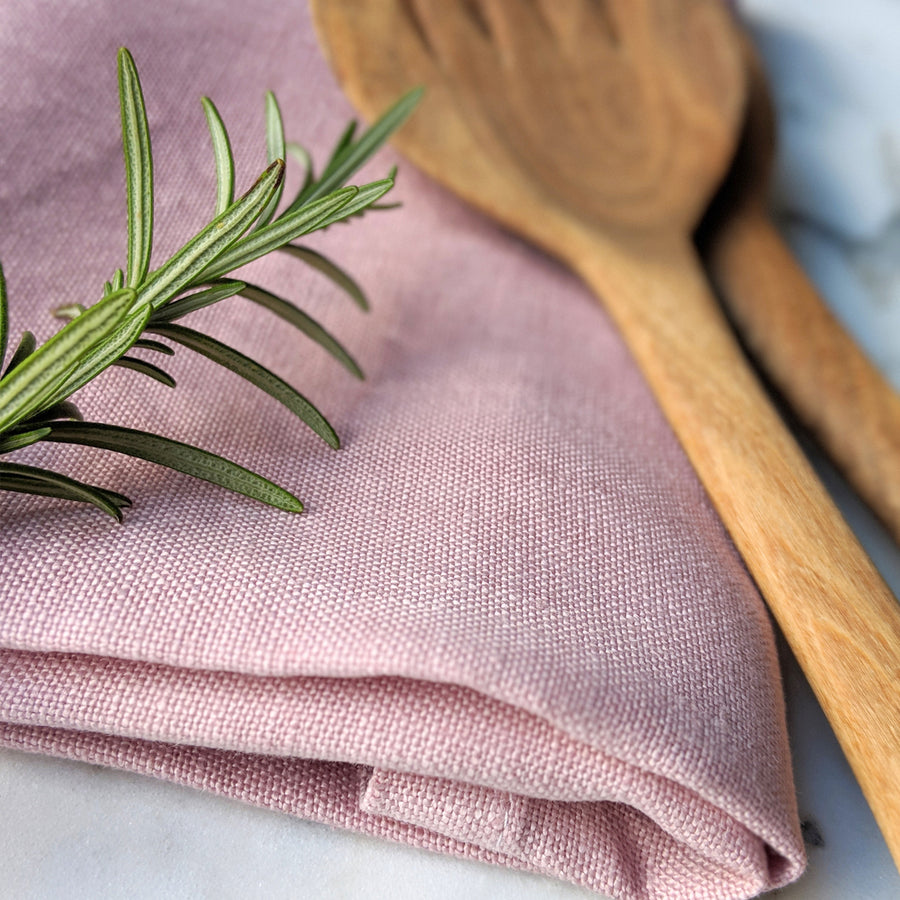 Sami Couper Linen Napkins Pack of 4 / 47x47cm / Rose *