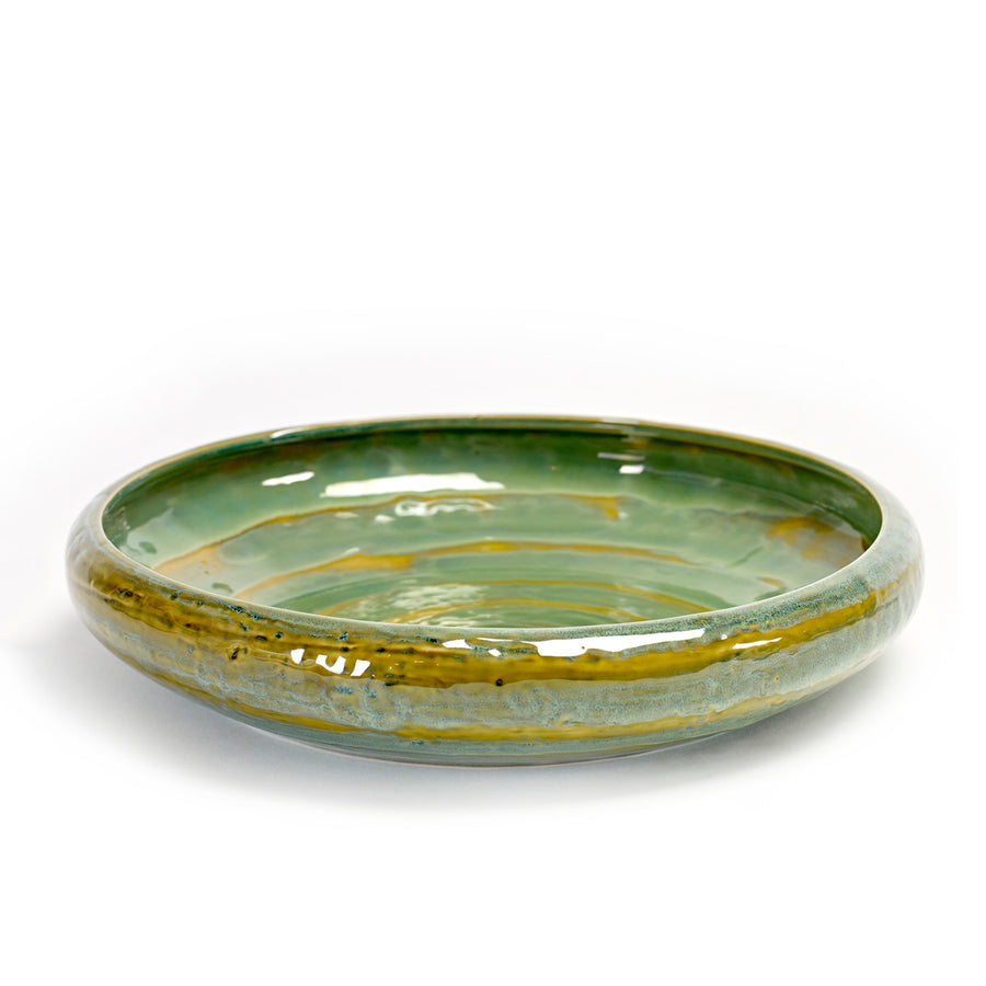 Serax Seagreen Low Bowl / 31cm (Online Only)