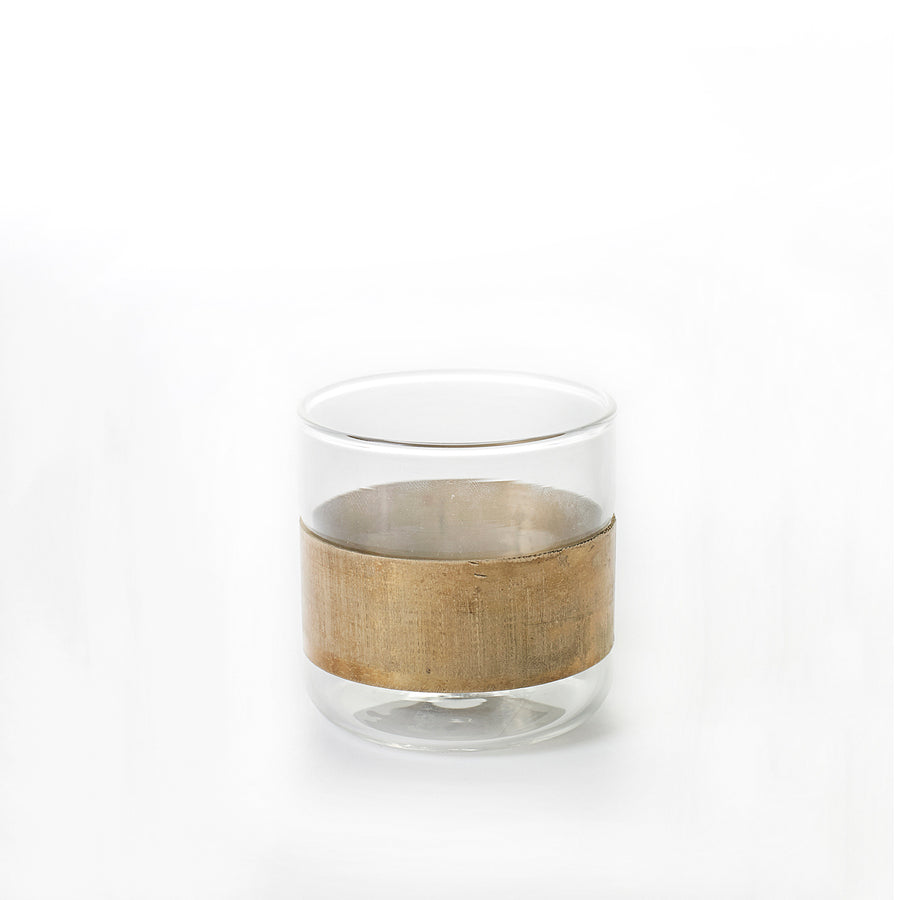 Serax Tumbler / Tealight with Copper Band