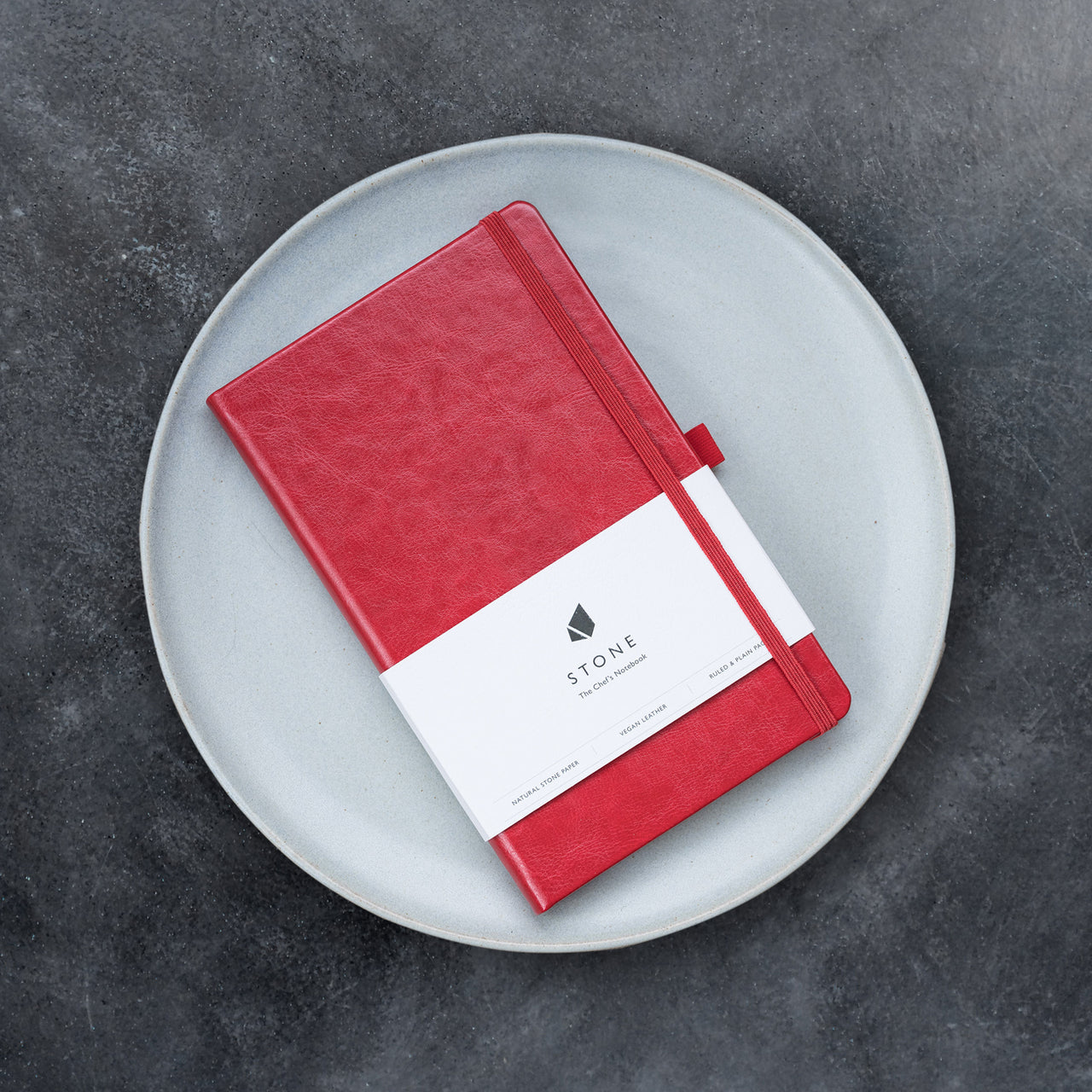 Stone The Chef's Notebook / Pack of 3 / Red