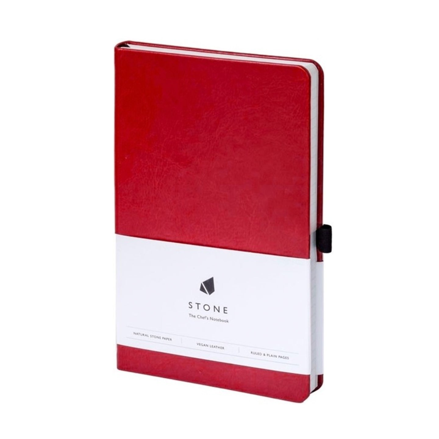 Stone The Chef's Notebook / Red