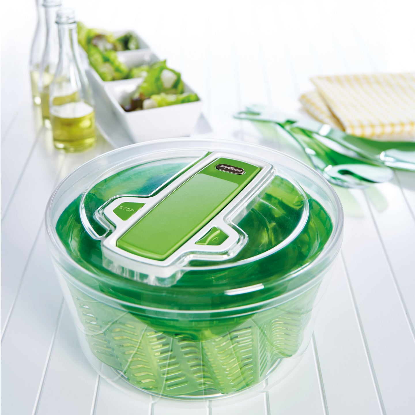 Zyliss Salad Spinner Green