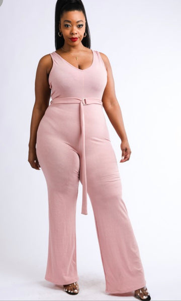Tank top jumpsuit