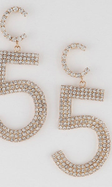 No.5 Rich B Earrings