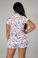Butterfly effect onesie