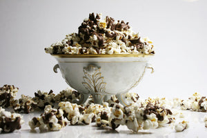 Milk Chocolate Laced Popcorn
